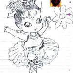 Josiane - desenho menina feliz