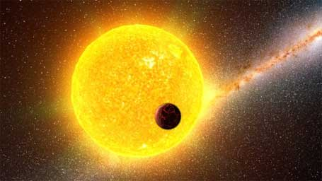 incrível planeta extrassolar