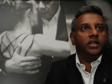 Foto do secretário da Anistia Internacional Salil Shetty