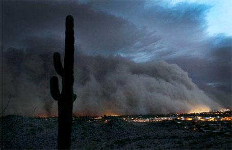 Apocaliptica tempestade de areia