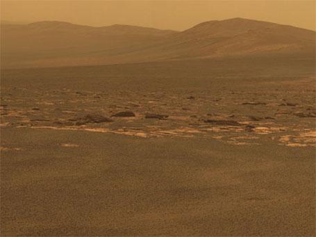 Fotografia inédita do Planeta Marte divulgada pela Nasa