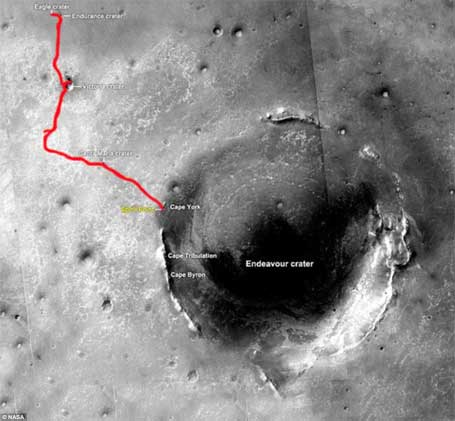 Cratera de Marte