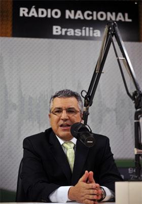 Foto do ministro da saúde, Alexandre Padilha