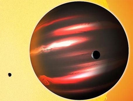 TrES-2b  planeta mais escuro do universo