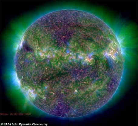foto da Nasa Imagem do sol 3