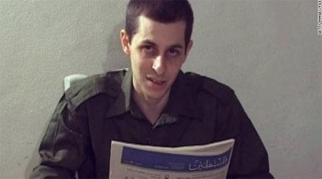 Foto de Gilad Shalit, o soldado israelense trocado por 1.027 palestinos