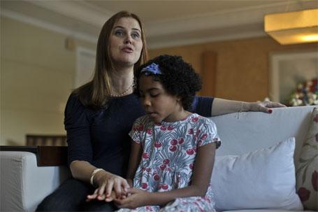 Foto a advogada Mirian Veloso e sua filha Camille