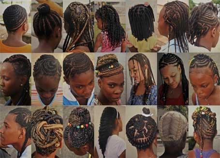 Foto cultura negra - o estilo afro refletido em penteados de diferentes gerações
