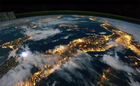 Fotos incríveis do planeta terra tiradas do espaço