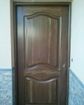 Pintura puerta de madera