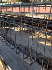 Estructura de hormigón. Construcción