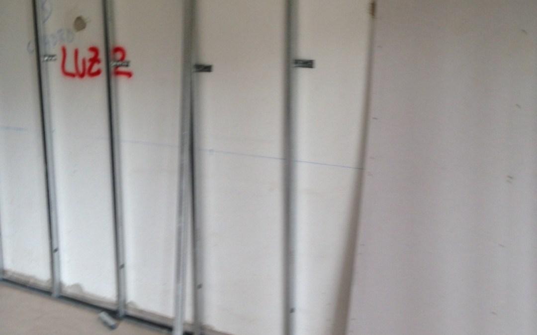 Instalación de Pladur en interior de casa