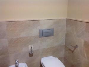 Alicatado de baños en Málaga