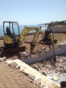 mini excavadoras malaga