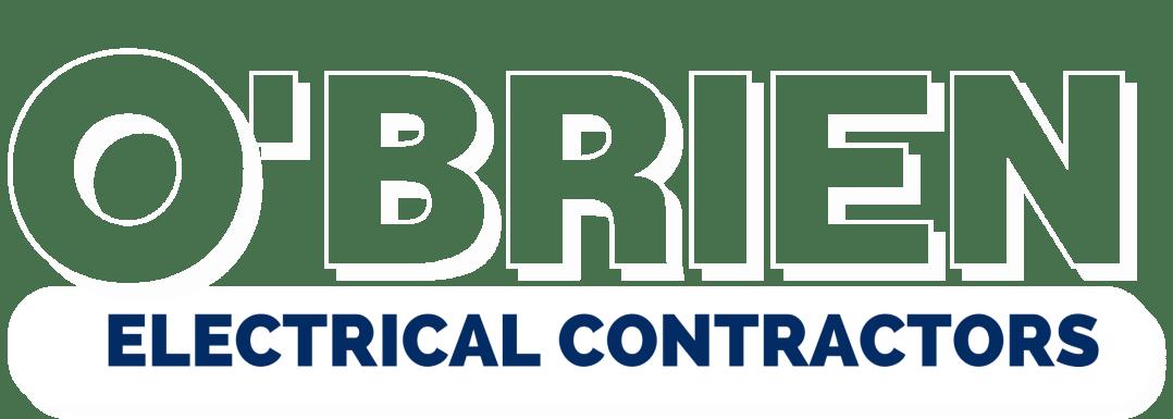 Obrien Electrical Contractors Logo White Denver Metro Electrician