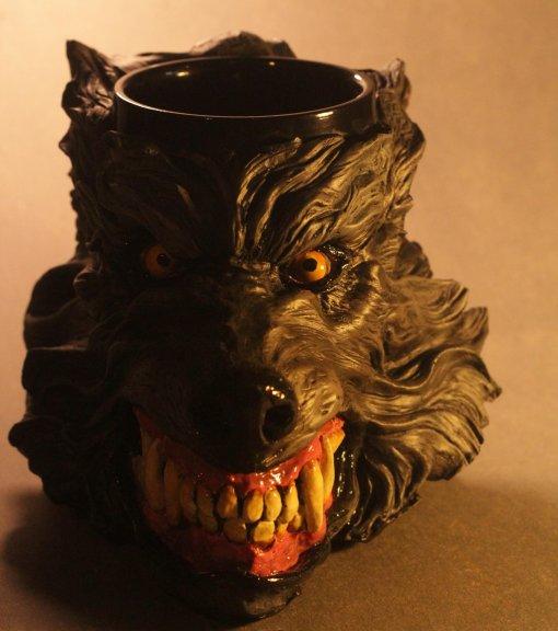 Caneca 3d Wolf