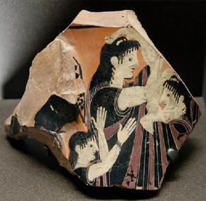 Métier de pleureuse dans la rome antique