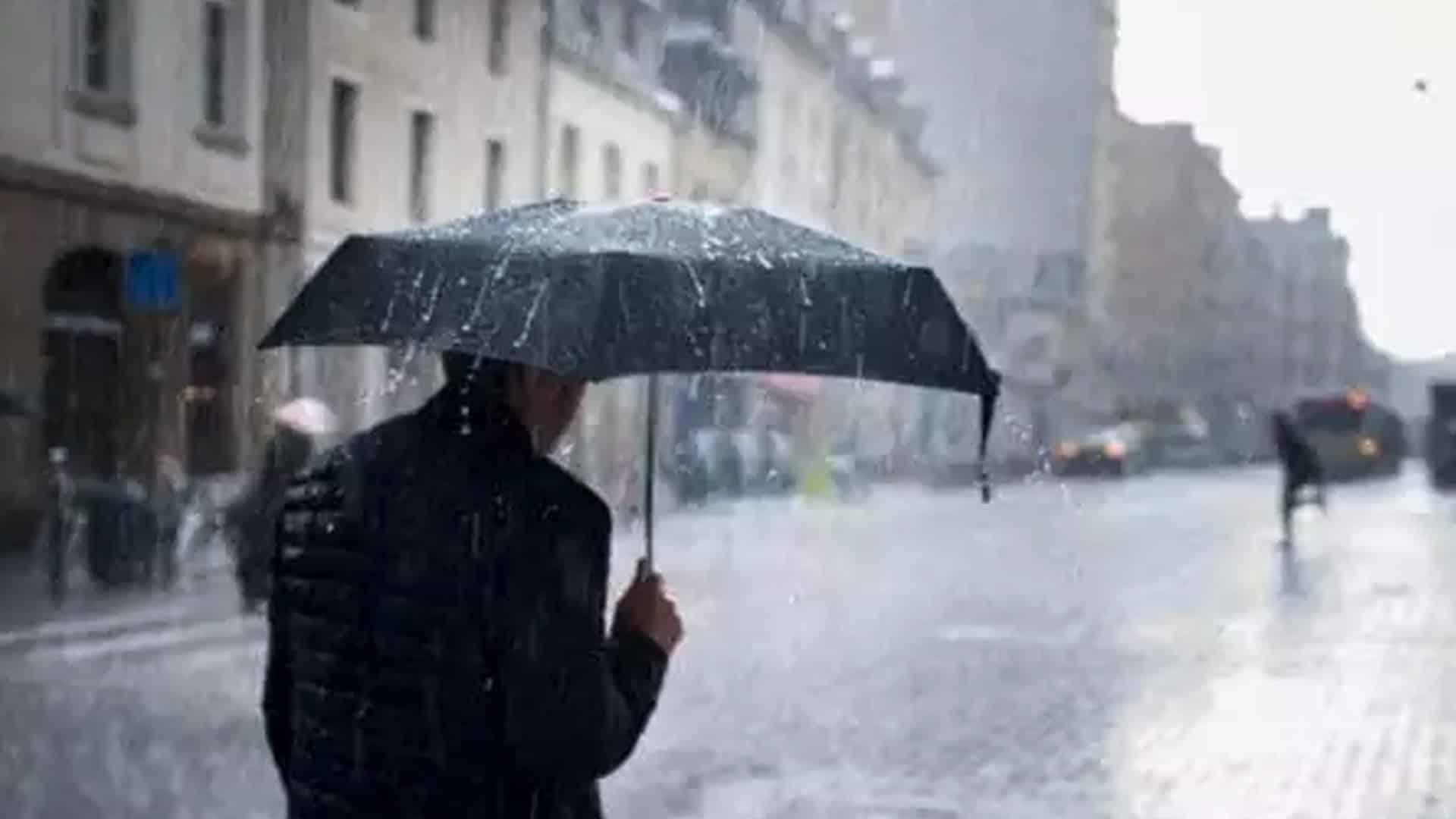 Météo : Pluie