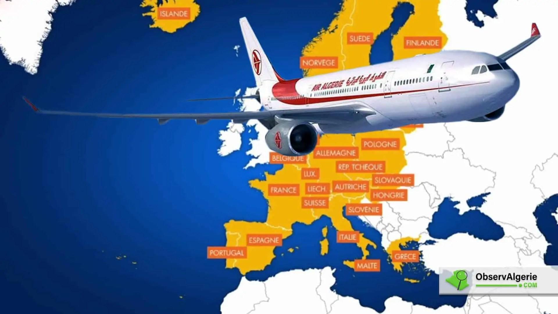 Reprise des vols : Liste des pays ayant ouvert leurs espaces aériens à l'Algérie
