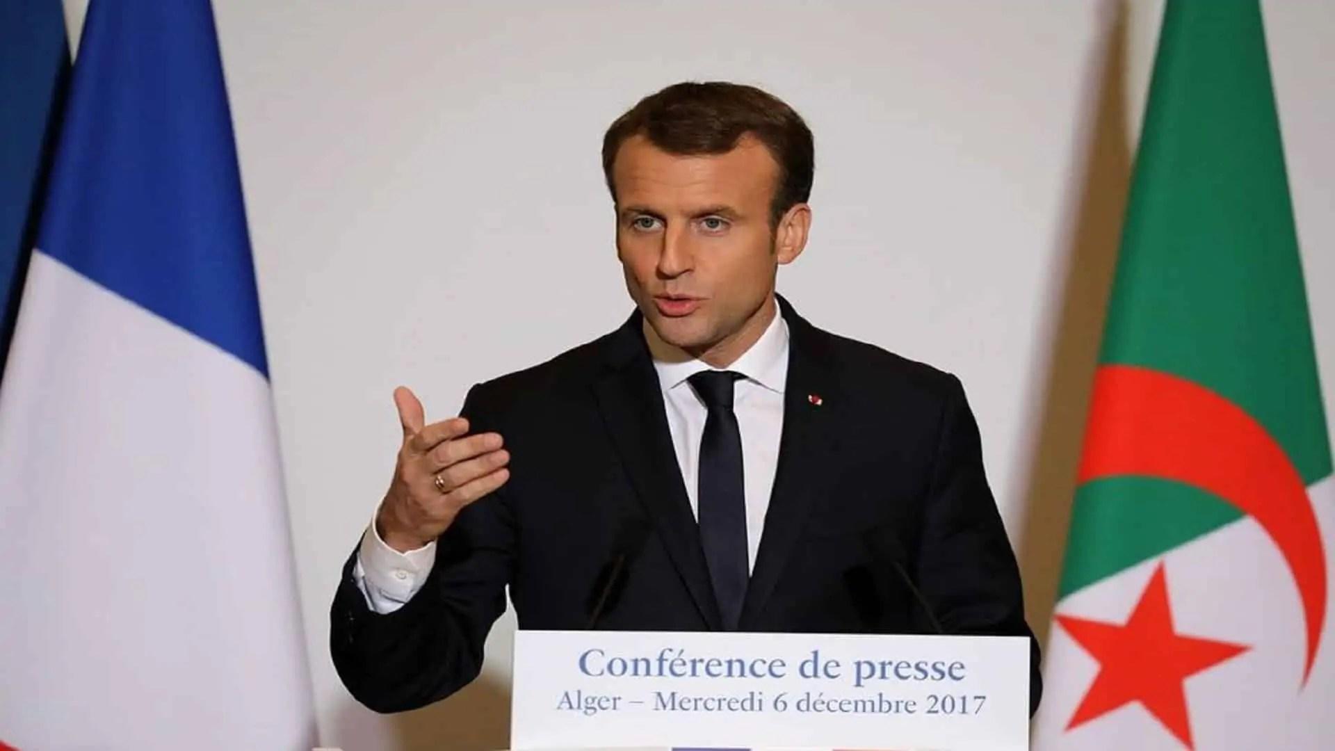 Photo : Emmanuel Macron