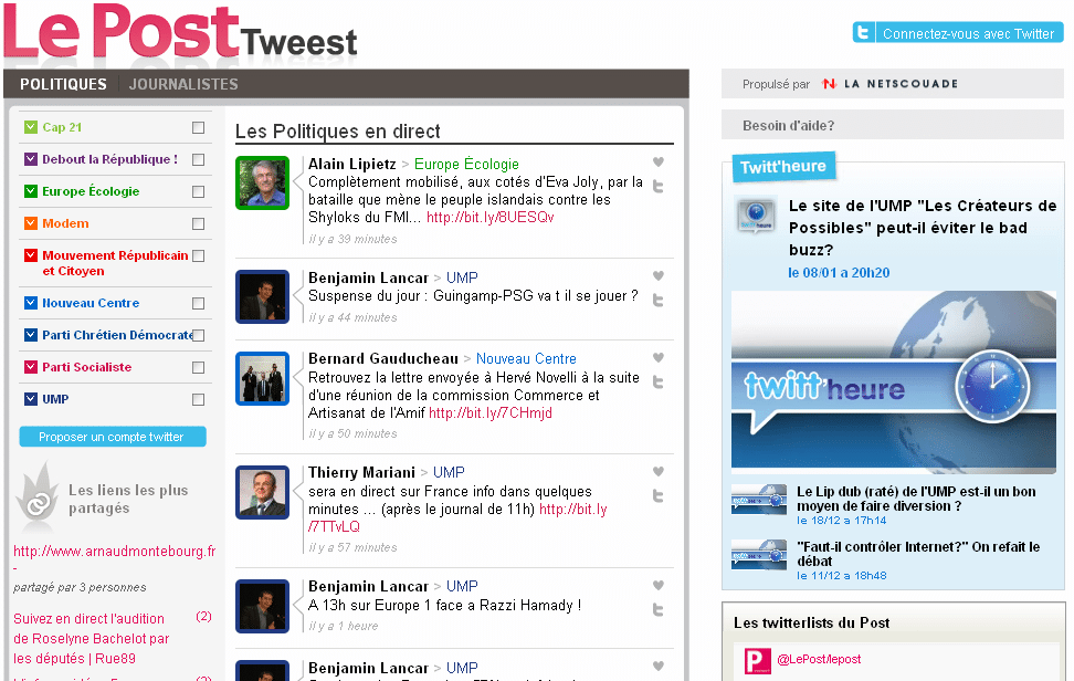 tweest-politique