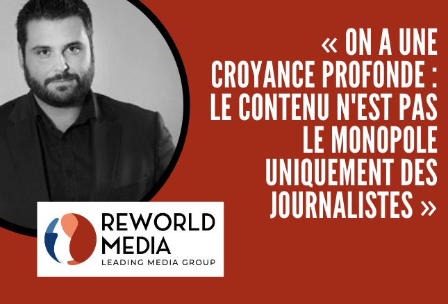 Jeremy Parola Reworld Media