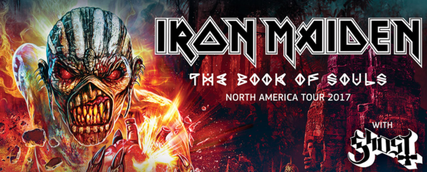 IRON MAIDEN's The Book Of Souls World Tour will return to North America for an extensive series of arena and amphitheater shows in summer 2017. The tour opened in Florida last […]