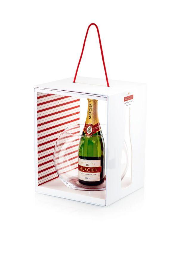 Champagne Mercier - Coffret Fêtes 2014