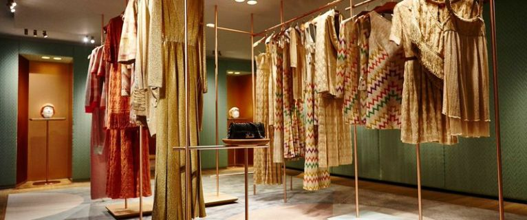 Missoni ouvre une nouvelle boutique à Paris