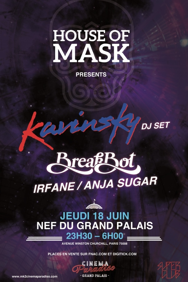 House of Mask au Grand Palais