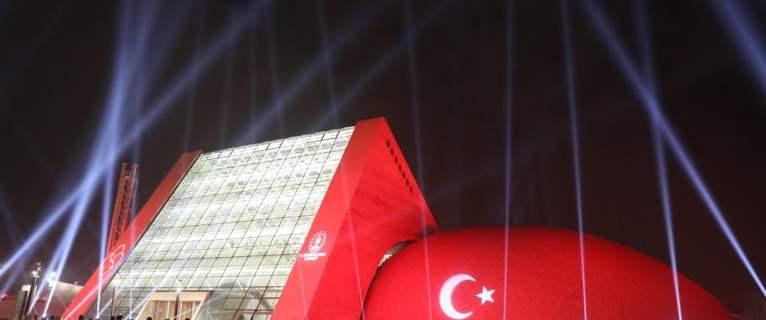 Mezzo TV – Diffusion aujourd'hui de l'inauguration du nouveau bâtiment du CSO à Ankara