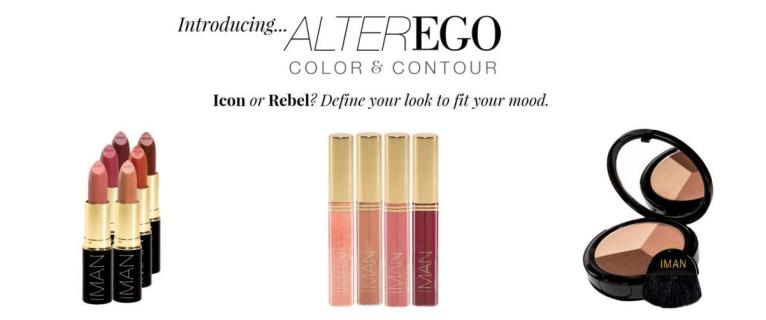 IMAN Cosmetics lance sa nouvelle collection Makeup Alter Ego