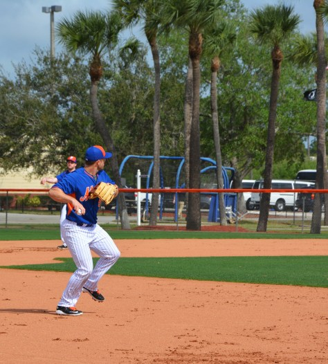mets wright infield