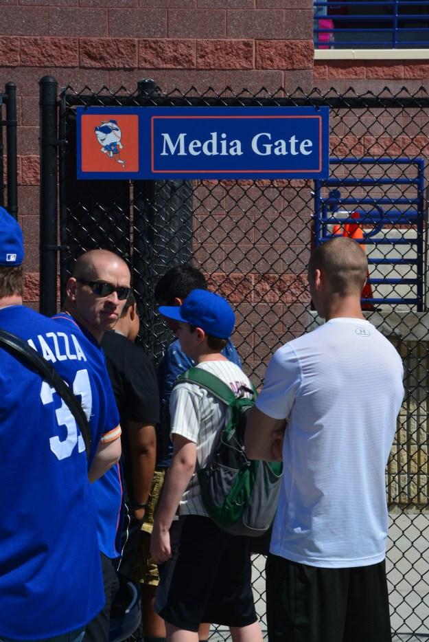 Mets - Jack media gate
