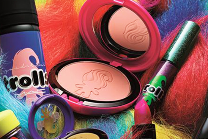 Mac good luck trolls makeup collection