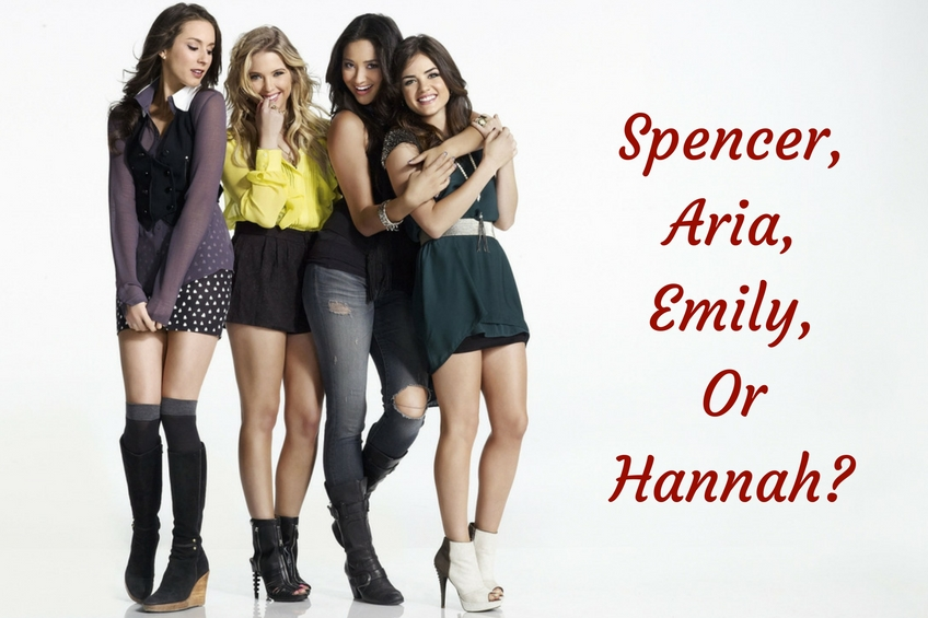 Aria Hannah Emily Which Pretty Little Liars Star Is Your Style Twin