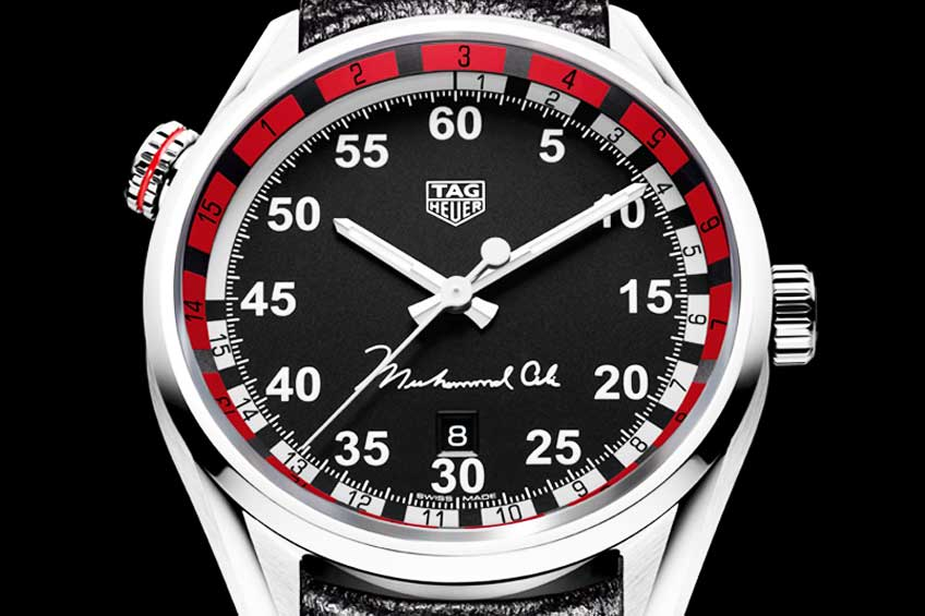 Tag heuer tribute to muhammad ali limited edition watch