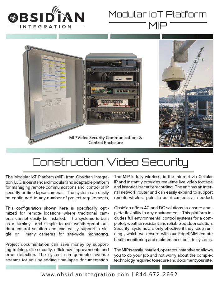 Wireless Construction Camera