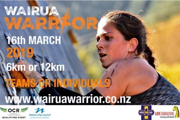 wairua warrior banner info