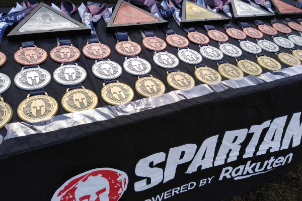 Spartan Auckland 2019 medals