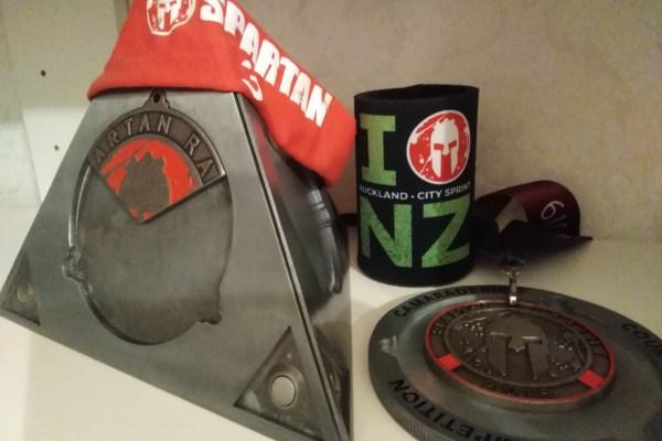 NZ medal display