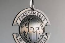 spartan 2020 sprint medal