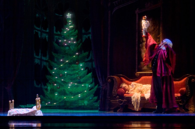 Oregon Ballet Theatre's performance of George Balanchine's The Nutcracker. Photo by James McGrew.