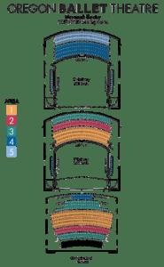 Newmark Seating Chart Portland Oregon