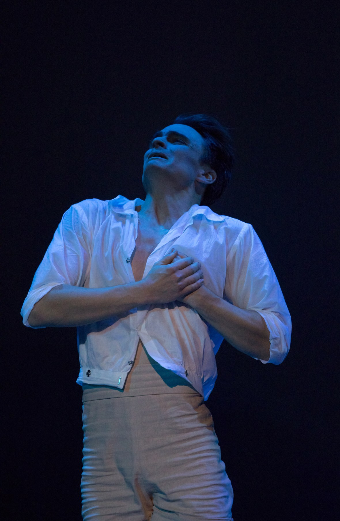 """Peter Franc in the United States full production premiere of August Bournonville's """"Napoli,"""" October 6-13, 2018 at the Keller Auditorium. Photo by James McGrew."""