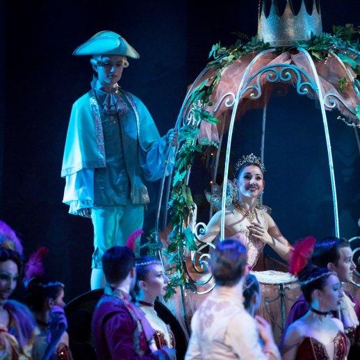 "OBT soloist Eva Burton in Ben Stevenson's ""Cinderella,"" running February 16 - 23, 2019, at Portland's Keller Auditorium. Photo by James McGrew."