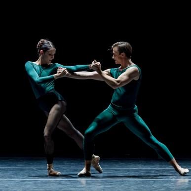 Eva Burton and Peter Franc; photo by Yi Yin