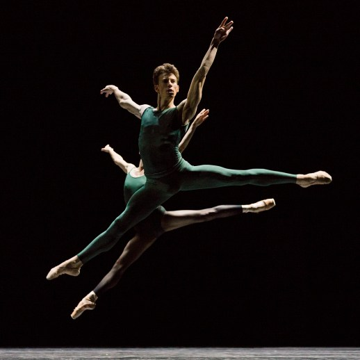 """Matthew Pawlicki-Sinclair   Oregon Ballet Theatre   """"In the Middle, Somewhat Elevated""""   Choreography by William Forsythe   Photo by Blaine Covert"""