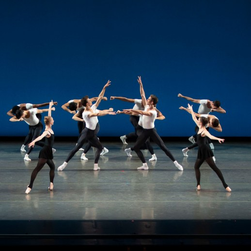 OBT Dancers, Stravinsky Violin Concerto, OBT ROAR(S), photo by Emily Nash