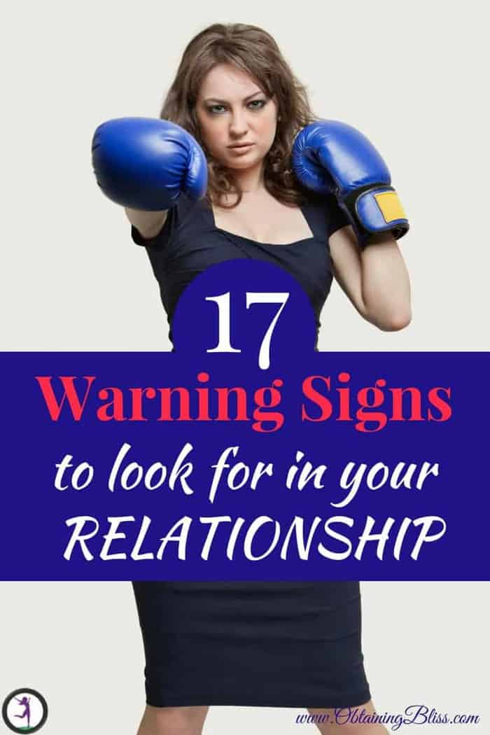 Your relationship is going great, you're both in love. But something just isn't right. Read these warning signs you need to be aware of in your relationship. #domesticviolence #abuse #relationships